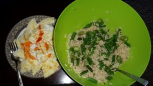 17-19 Weeks From 1st bikini Show: Muscle Building High Carb day meal