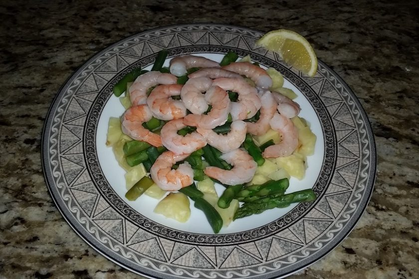 14 Weeks From 1st bikini Show Fitness Boulders Meal 4 Shrimp