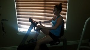 Two Tips on How Not to Get Noticed at the Gym bike